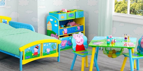 Delta Peppa Pig 6-Bin Toy Storage Organizer Only $22.50 on Amazon (Regularly $37)