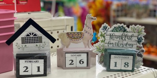Perpetual Calendars, Monthly Planners & More Only $1 at Dollar Tree