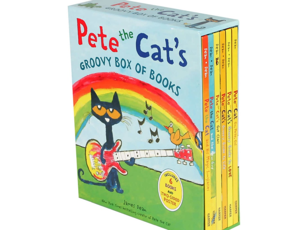 Pete the Cat's Groovy Box of Books: 6 Book Set
