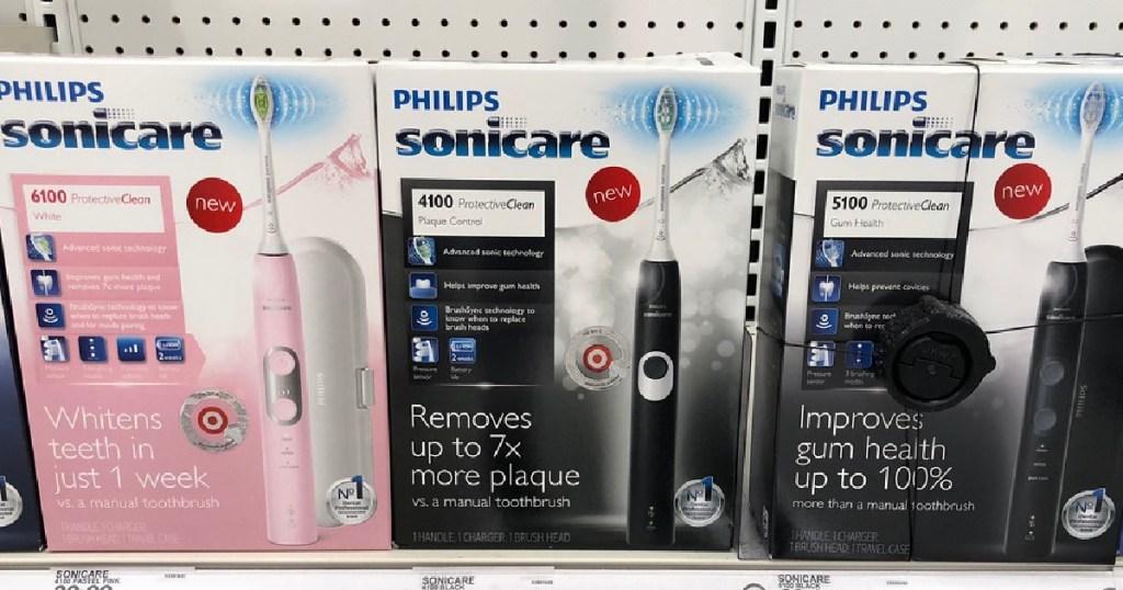 Sikat gigi Philips Sonicare di rak