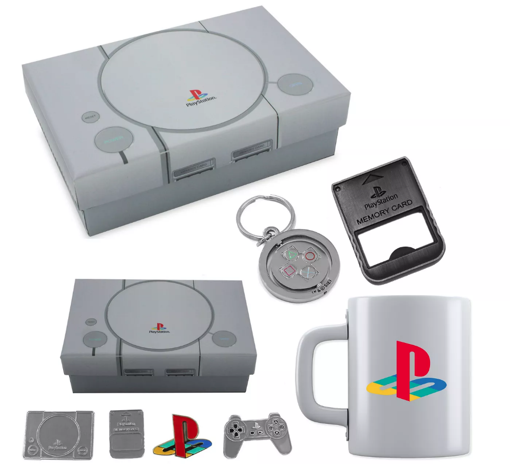 Play Station One Console Gift box