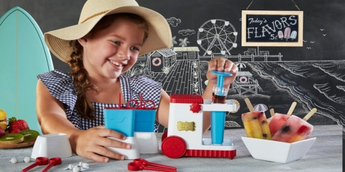 FAO Schwarz  23-Piece Popsicle Making Station Only $11.99 on Macy's.com (Regularly $30)