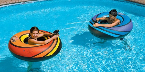 Power Blaster Pool Floats Set Only $18.56 on Zulily (Regularly $38) | Built-In Water Blasters