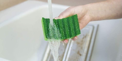 Heavy Duty Scrub Sponges 6-Pack Only $3 Shipped on Staples.com