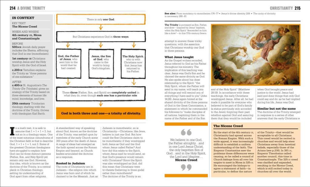 Religion Big Ideas Book page excerpt
