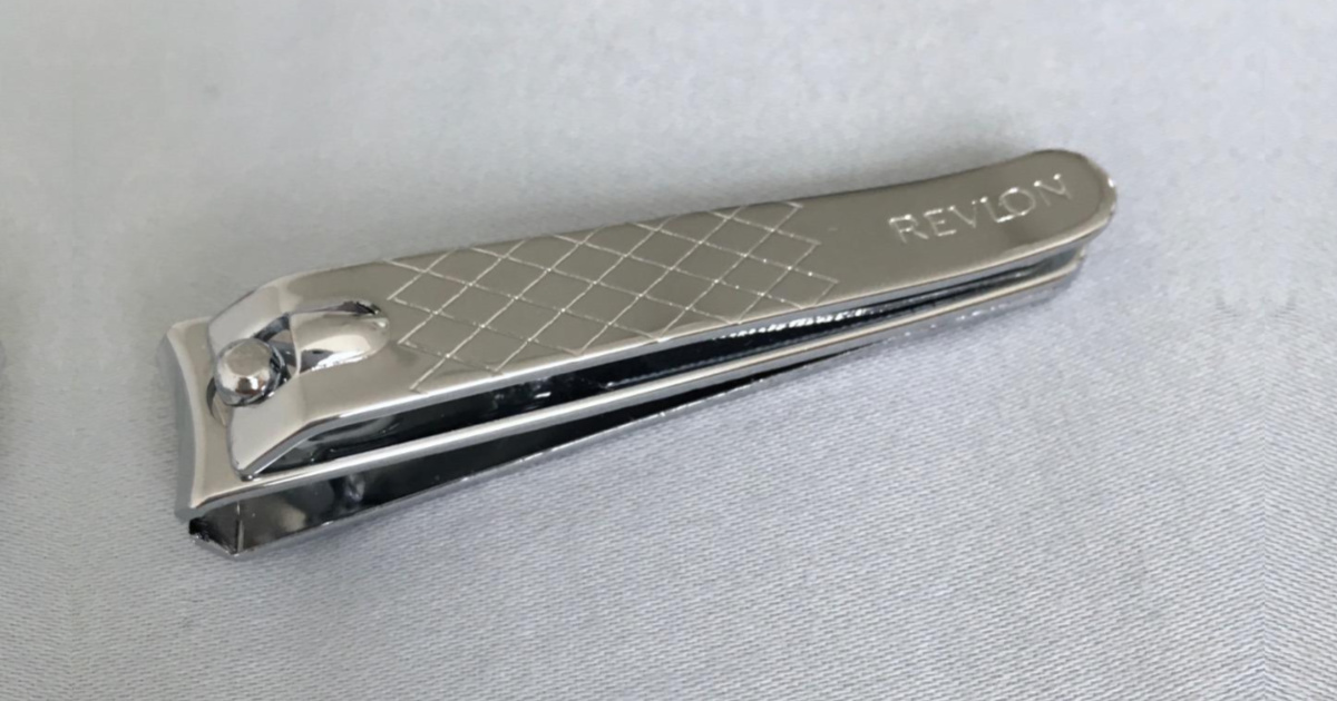nail clippers on gray surface