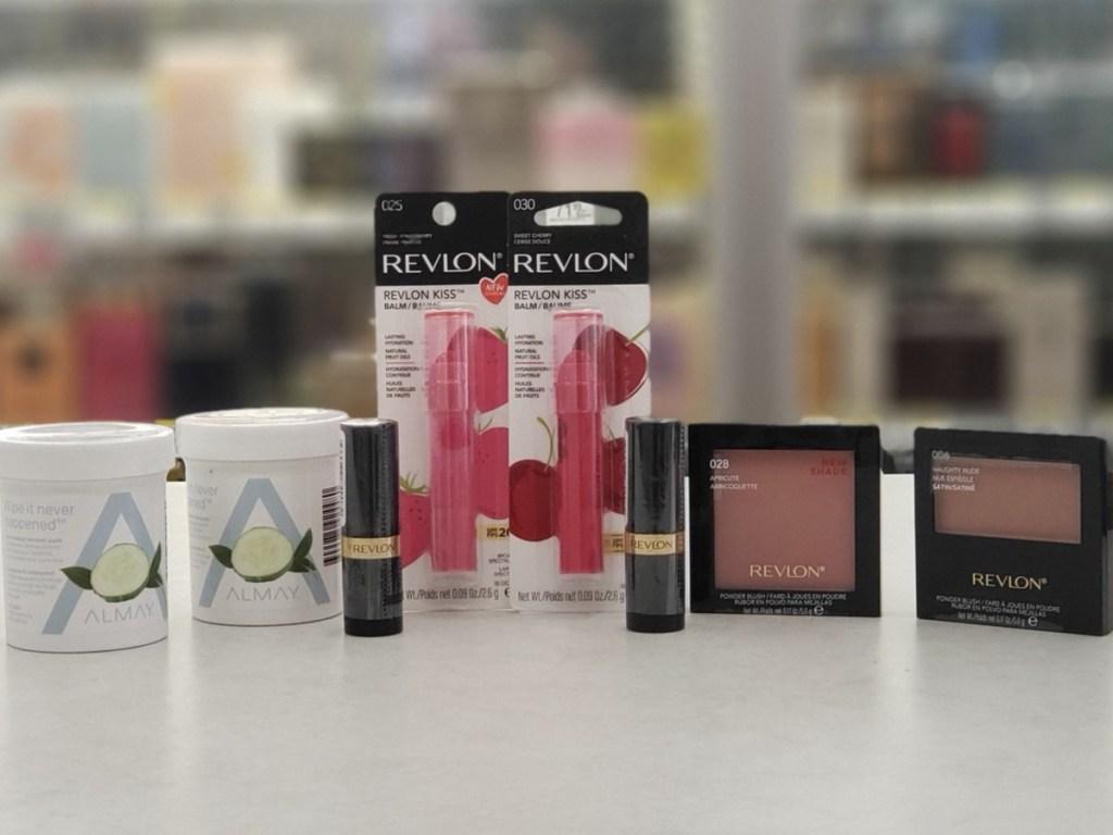 Revlon and Almay Cosmetics at Walgreens