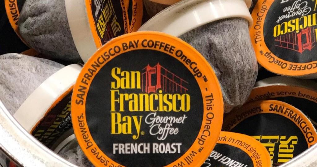 french roast coffee pods