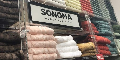 Sonoma Goods for Life Bath Towels Only $5.39 Shipped for Select Kohl's Cardholders (Regularly $14)