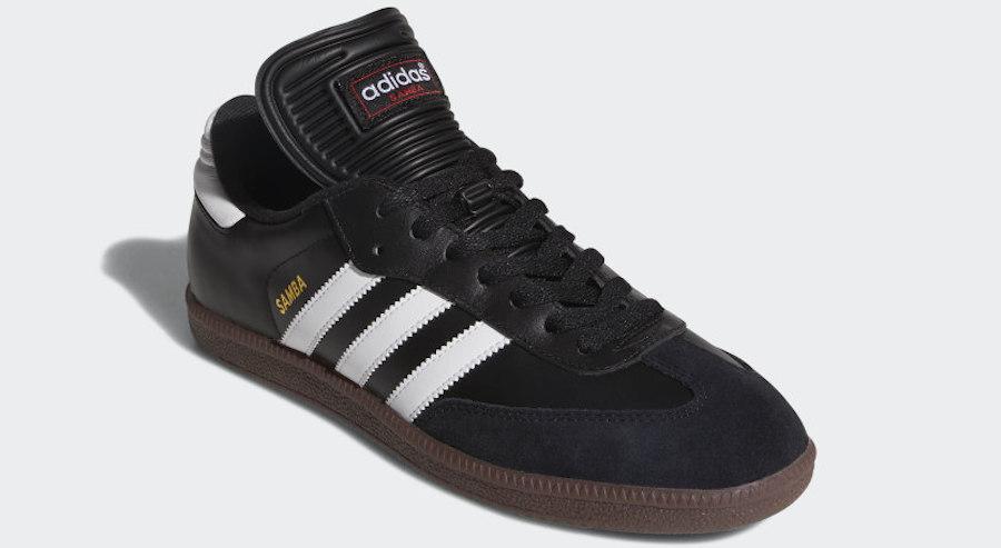 Samba Adidas Shoes in black and white