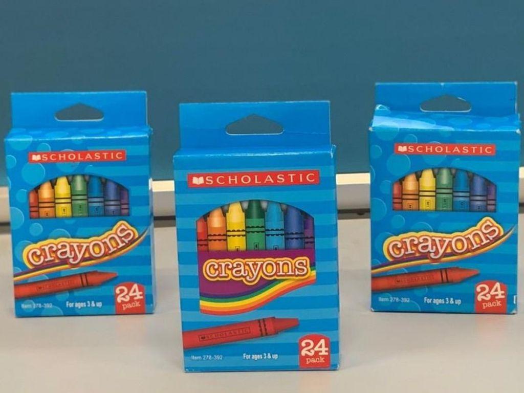 Scholastic Crayons