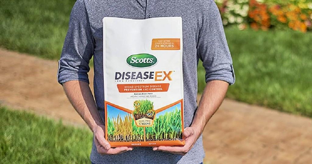 Scotts DiseaseEx Lawn Fungicide 10-lb Bag - 5,000 sq ft