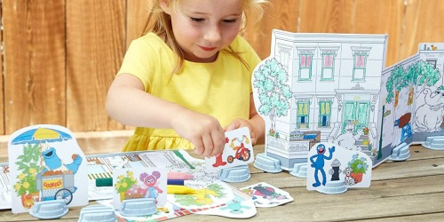 Green Toys Sesame Street Coloring Activity Set Only $5.85 on Amazon (Regularly $20)