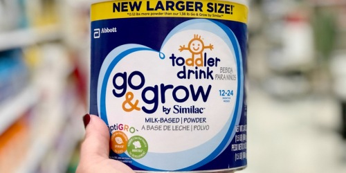 Similac Go & Grow Toddler Drink 30.8oz Just $16.99 Each After Target Gift Card