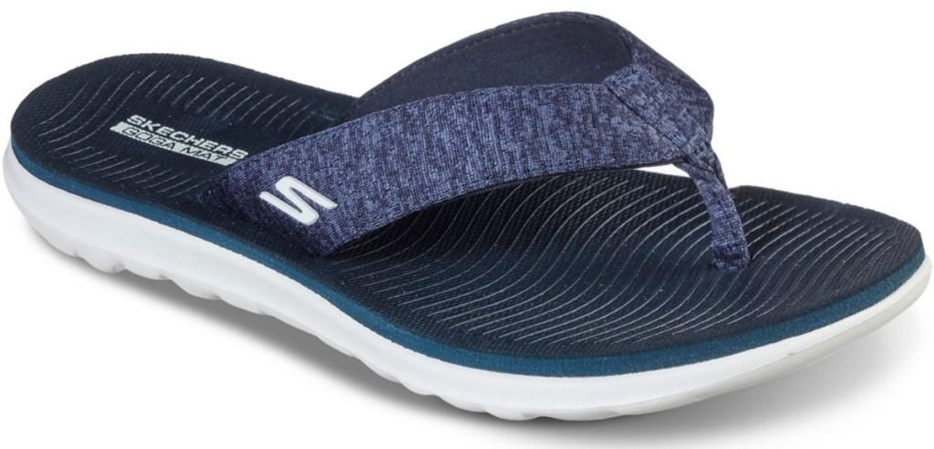 Skechers Women's On The Go Nextwave Ultra Timeless Flip-Flop Sandals