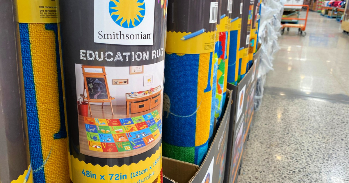 Smithsonian Educational Rugs at Costco
