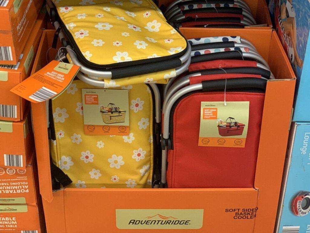 soft sided shopping basket