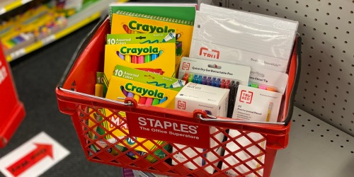 School Supplies from Just 25¢ Shipped on Staples.com | Stock Up