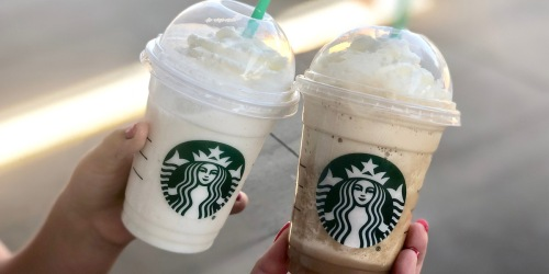 Starbucks Happy Hour: Buy One Get One Free Handcrafted Beverages October 8th From 2-7pm