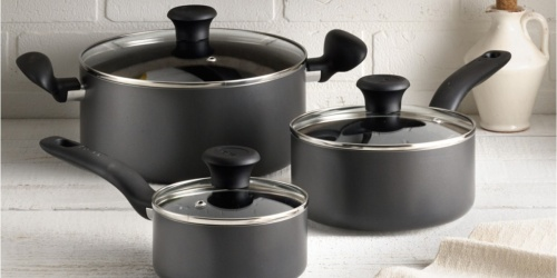 T-Fal Nonstick Cookware 18-Piece Set Only $49.99 Shipped on Macys.com (Regularly $180)