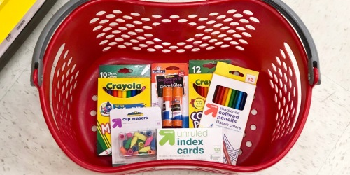 Best School Supply Deals at Target | 50¢ Crayola Crayons, Elmer's Glue, & More