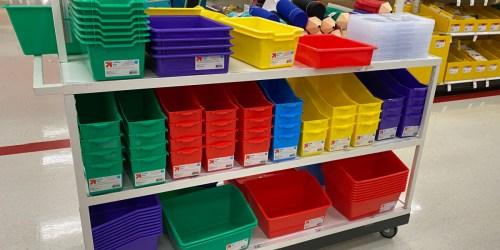50% Off Storage Bins, Teacher Supplies & More on Target.com