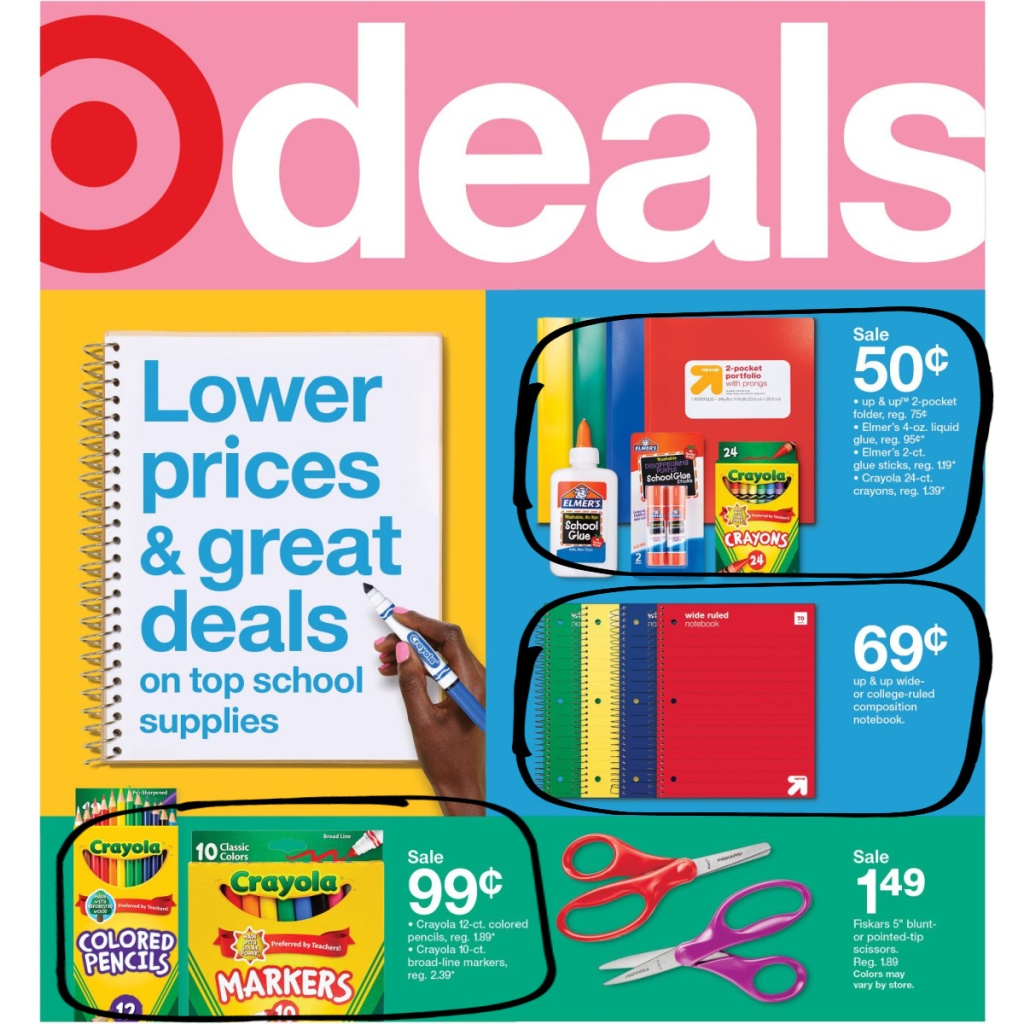 Target Weekly Ad 7-26 to 8-1 Page 1