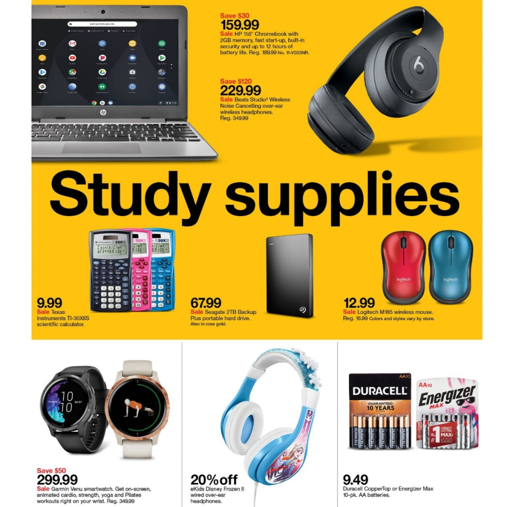 Target Weekly Ad 7-26 to 8-1 Page 11