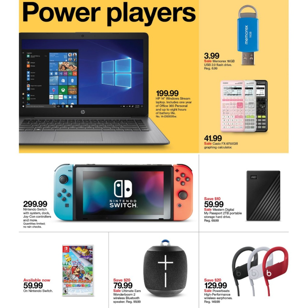 Target Weekly Ad 7-26 to 8-1 Page 12