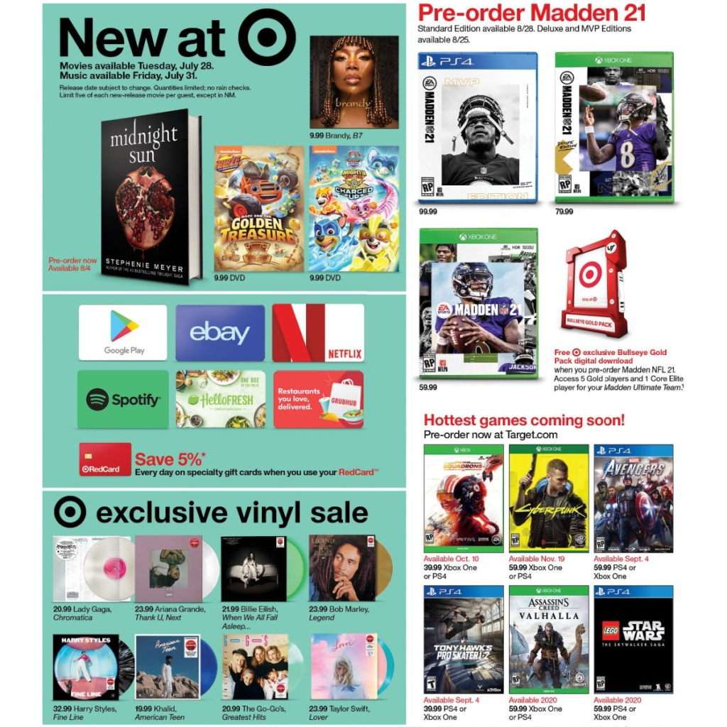 Target Weekly Ad 7-26 to 8-1 Page 13