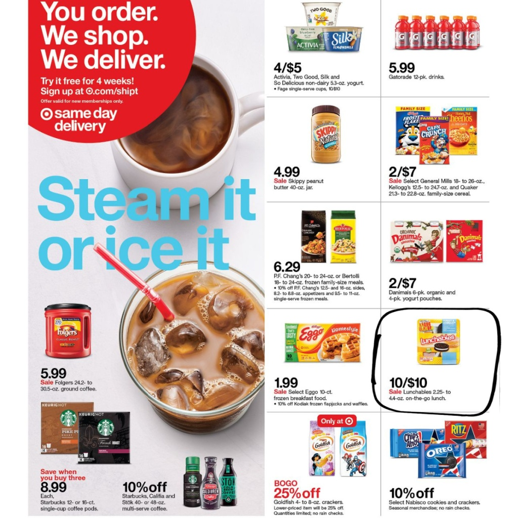 Target Weekly Ad 7-26 to 8-1 Page 33