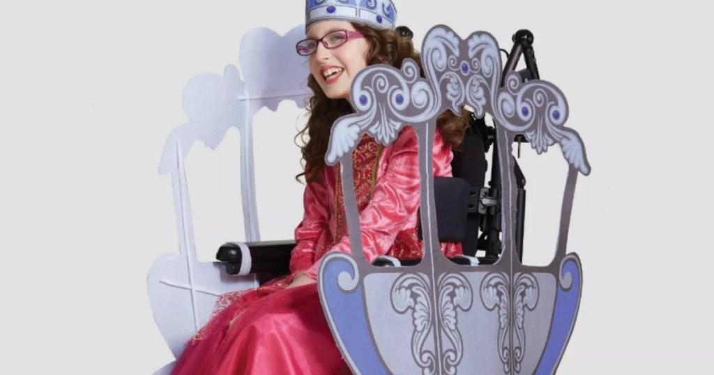 Target adaptive costume princess