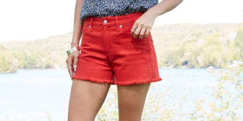 Women's Shorts from $8.99 on Target.com (Regularly $20)