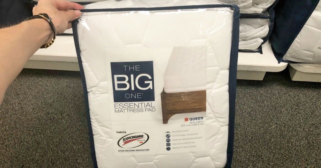 The Big One Mattress Pads From 13 Shipped For Kohl S Cardholders Hip2save
