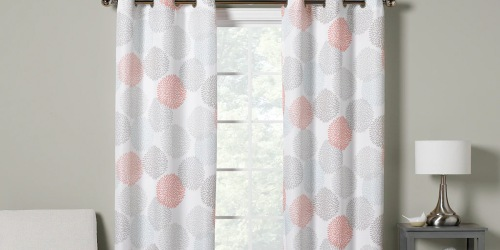 The Big One Window Curtain 2-Packs from $10.79 on Kohls.com (Regularly $45+)