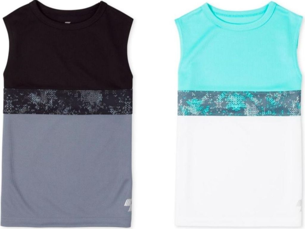 two boys tank tops