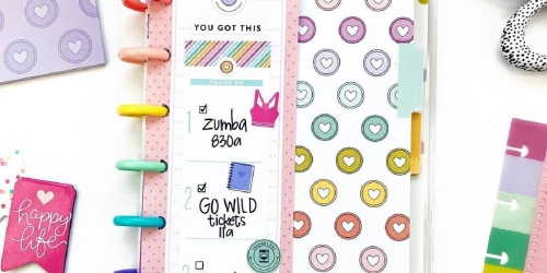The Happy Planner Accessories from $4.99 on Zulily   Notebooks, Stickers, & More
