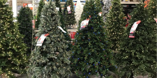 The Home Depot is Recalling 100,000 Artificial Christmas Trees Purchased in 2019