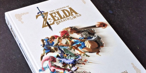 The Legend of Zelda: Breath of the Wild Hardcover Book Only $15 on Amazon (Regularly $40)