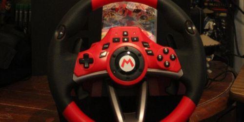 Mario Kart Deluxe Nintendo Switch Racing Wheel Just $82.94 Shipped on Amazon (Regularly $100)