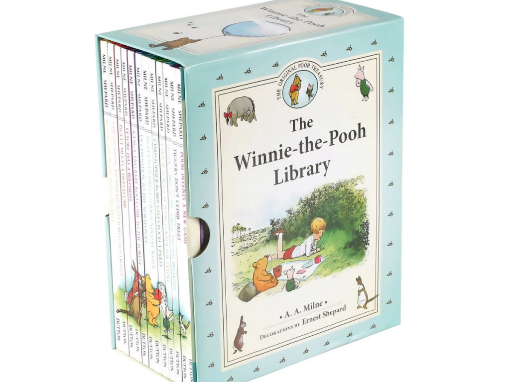 The Winnie the Pooh Library: 12 Book Box Set