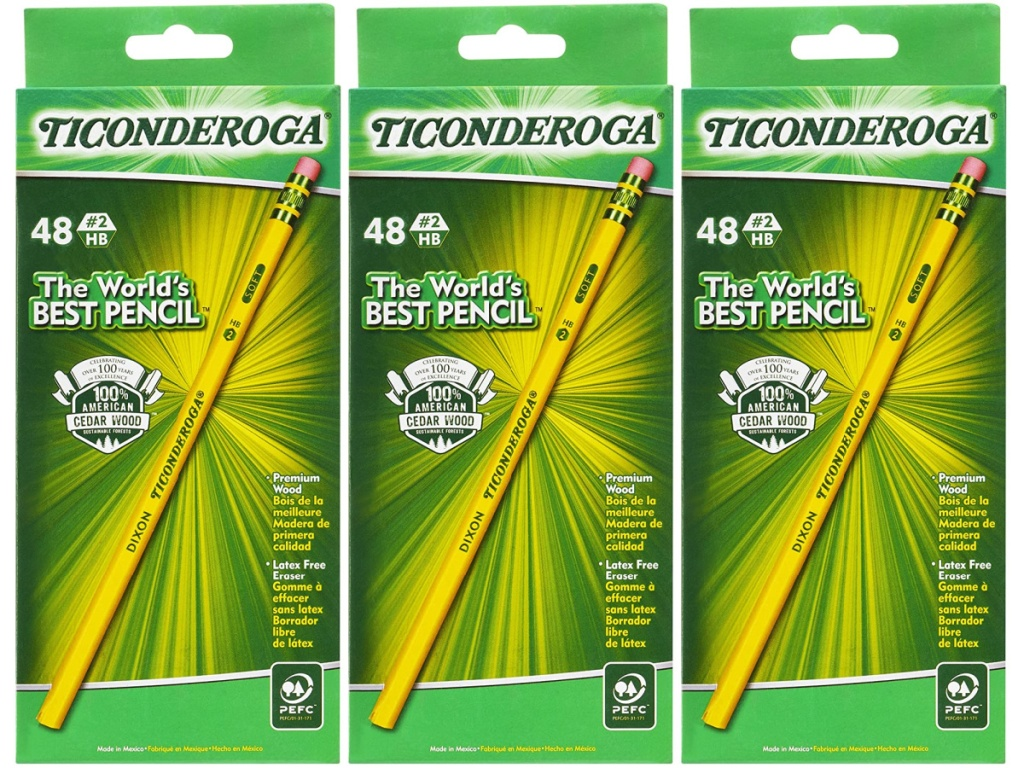 Ticonderoga 48-count