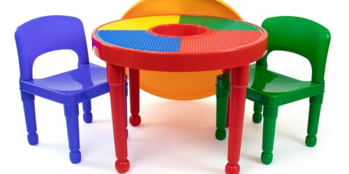 LEGO Building Table & Chairs Set Only $44.99 Shipped on Walmart.com (Regularly $69)