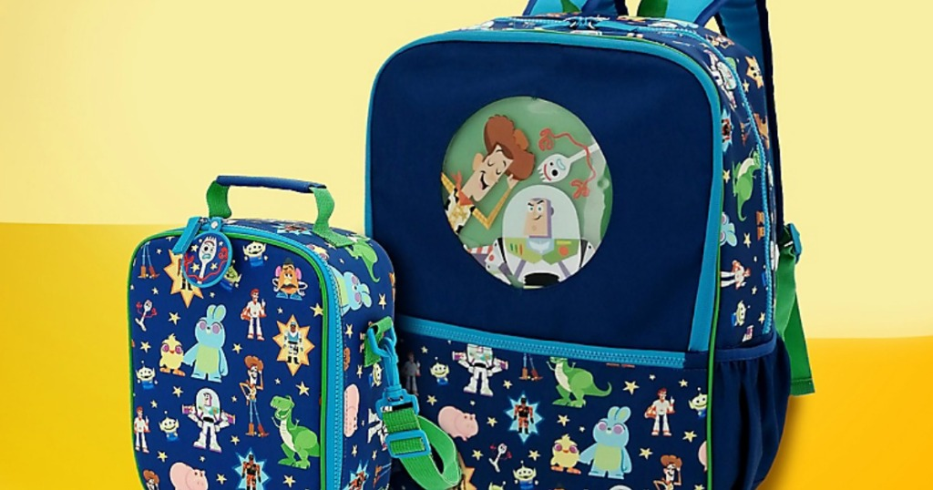 Toy Story Disney Lunchbox and backpack
