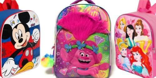 Kids Character Backpacks from $7 on Belk (Regularly $20)