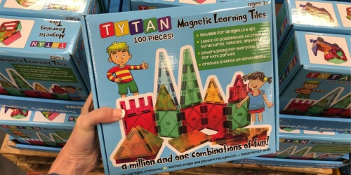 Tytan Magnetic Learning Tiles Building 100-Piece Set Only $29.98 at Sam's Club (Regularly $43)