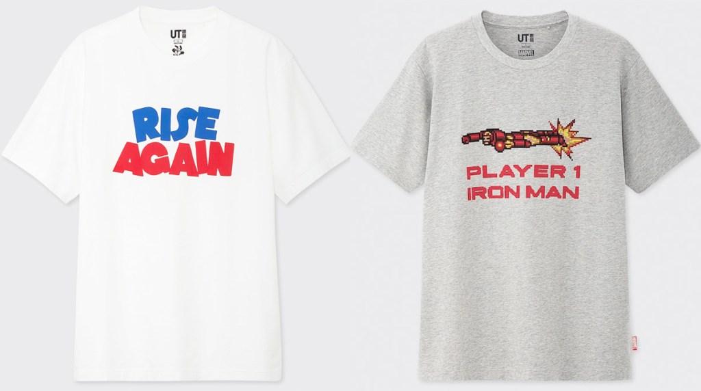 white and grey mens graphic tshirts