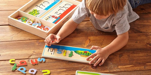 Melissa & Doug See and Spell Puzzle Only $11.77 on Amazon (Regularly $20)