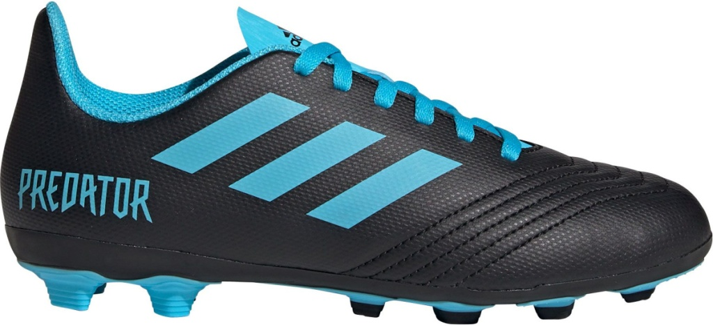 adidas predator soccer cleats black and blue