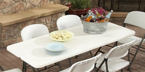 Living Accents Folding Table Only $29.99 on Ace Hardware